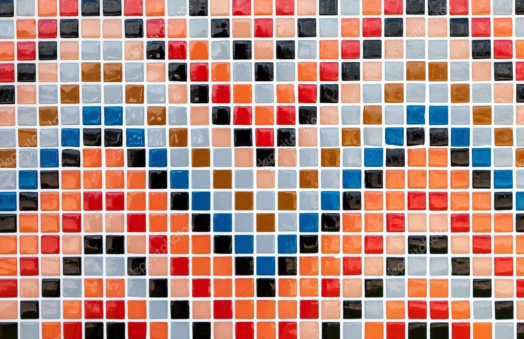 Piastrelle colorate in vetro ceramica mosaico composizione - Stock piastrelle 2 euro ...