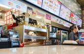 SAMARA, RUSSIA - AUGUST 30, 2014: Burger King fast food restaura — Stock Photo