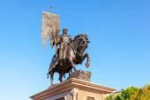 Samara, Rusko - 13 září 2014: bronzový pomník nad — Stock fotografie