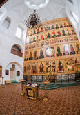 VALDAY, RUSSIA - AUGUST 17, 2014: : Interior of the Temple of th — Stock Photo