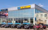 SAMARA, RUSSIA - MAY 24, 2014: Office of official dealer Opel. O — Photo