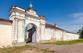 St. George's (Yuriev) monastery in Veliky Novgorod, Russia — Stock Photo