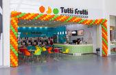 SAMARA, RUSSIA - JUNE 1, 2014: Tutti Frutti Frozen Yogurt branch — Stock Photo