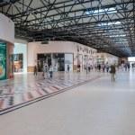 Inside of the Samara hypermarket Ambar — Stock Photo #61796549