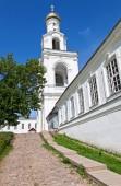 St. George's Monastery in Veliky Novgorod, Russia — Stock Photo