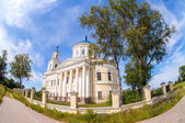 Temple of the Resurrection in the village of Selco-Karelian, Tve — Stock Photo