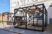 Alte Glocken der St. Sophia Cathedral im Nowgoroder Kreml, Ru — Stockfoto