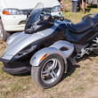 Trike or tricycle vehicle Spyder is made by Bombardier Recreatio — Stock Photo #62911027