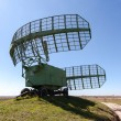 Military russian radar station against blue sky — Stock Photo #63224561