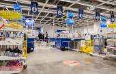 Interior of the IKEA Samara Store. IKEA is the world's largest f — Stock Photo