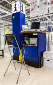 IKEA information points at the Ikea store of Samara — Stock Photo