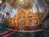 Petersb の血の上の救世主教会の内部 — ストック写真