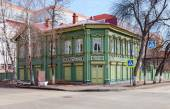Memorial house-museum of Vladimir Ilyich Lenin in Samara, Russia — Stock Photo