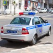 Russian patrol vehicle of the State Automobile Inspectorate on t — Stock Photo #75898075