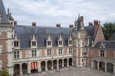France, BLOIS - JULY 26, 2014: Fragment of Castle Blois. Shootin — Stock Photo