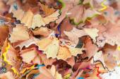 Texture shavings of colored pencils — Zdjęcie stockowe