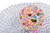 Multicolored christmas ball — Foto Stock