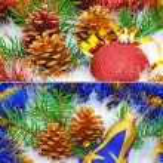 Christmas tree decorations — Stock Photo #57471663