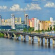 View of the Dnieper river in Kiev — Stock Photo #65621007