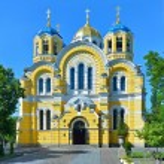 Vladimir Cathedral in Kiev — Stock Photo #65704839