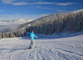 Ski resort schladming. Oostenrijk — Stockfoto