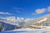 Ski resort Schladming . Austria — Stockfoto