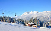 горнолыжного курорта шладминг. австрия — Стоковое фото