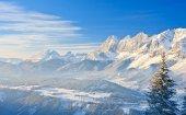 Mountain landscape. Schladming. Austria — Stock Photo