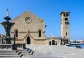 Kirche Mariä Verkündigung. Neustadt. Rhodos Insel. Griechenland — Stockfoto