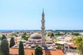 Suleymaniye Mosque. Old Town. Rhodes. Greece — Stock Photo