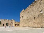 Palace of the Grand Masters. Old Town. Rhodes Island. Greece — Stock Photo