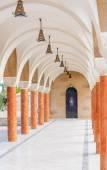 Gallery in the Church of Saint Nektarios. Faliraki. Island Rodos — Stock Photo