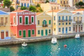 Symi Island. Greece — Stock Photo