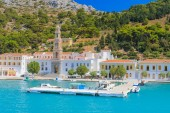Monastery Panormitis. Symi Island. Greece — Stock Photo