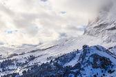 Skigebied van Selva di Val Gardena, Italië — Stockfoto