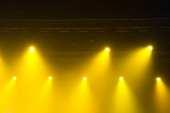 Stage lights on concert. — Stock Photo
