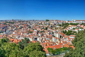 Cityscape in Lisbon, Portugal — Stock Photo