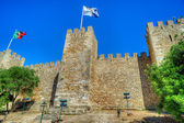 Castle Sao Jorge in Lisbon, Portugal — Stock Photo