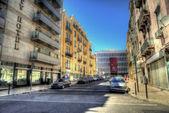 Romantic Lisbon street — Photo