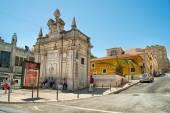 Romantic Lisbon street — Stock Photo