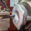 Постер, плакат: Lathe machine