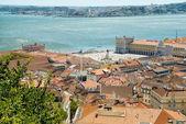 Paysage urbain à lisbonne, portugal — Photo