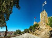 Castle Sao Jorge in Lisbon, Portugal — Stock Photo