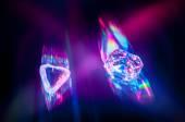 Beautiful glowing gems — Zdjęcie stockowe