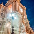 Old Opera Theatre Building in Odessa Ukraine night — Stock Photo #56746251
