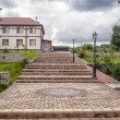 Beautiful park with stairs — Stock Photo #57097997