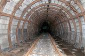 Old mine tunnel — Stock Photo