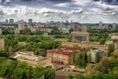 Stad donetsk, oekraïne — Stockfoto