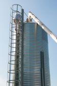Grain Elevators — Zdjęcie stockowe
