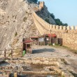 Tower of Genoa fortress in Sudak Crimea  — Stock Photo #62904305